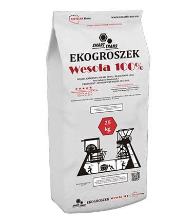 Skład opału - Ekogroszek Wesoła 100%